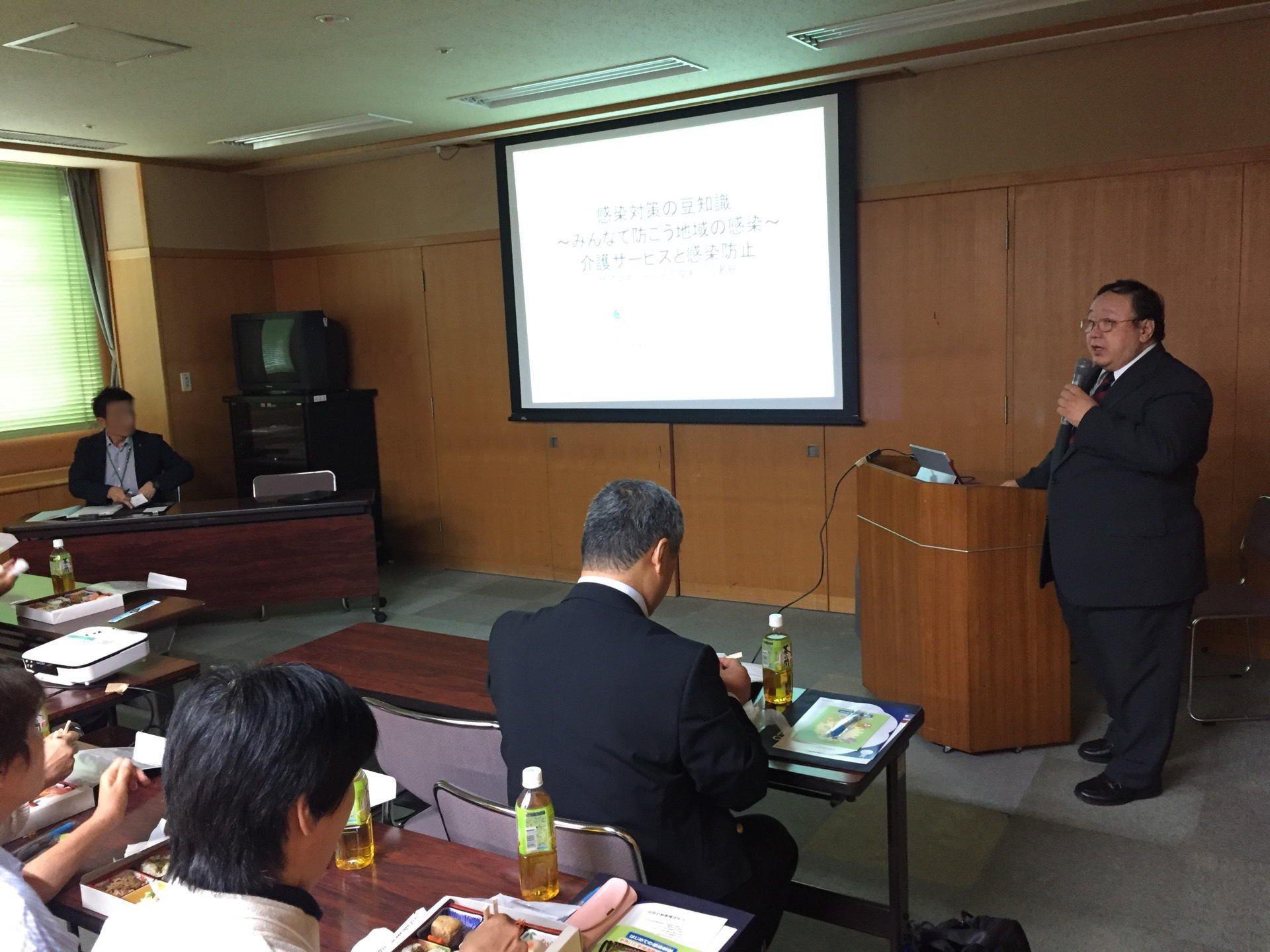 茨城県で介護支援専門員の方へ感染対策についてお話しさせていただきました