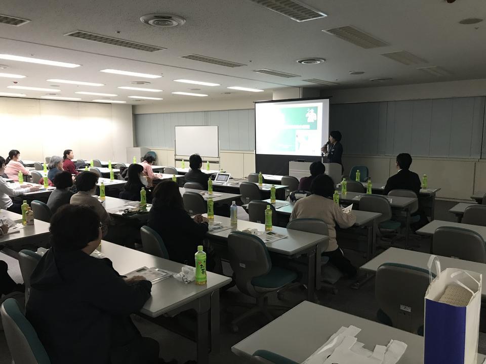 神奈川県の港南区薬剤師会で災害時の感染対策講演