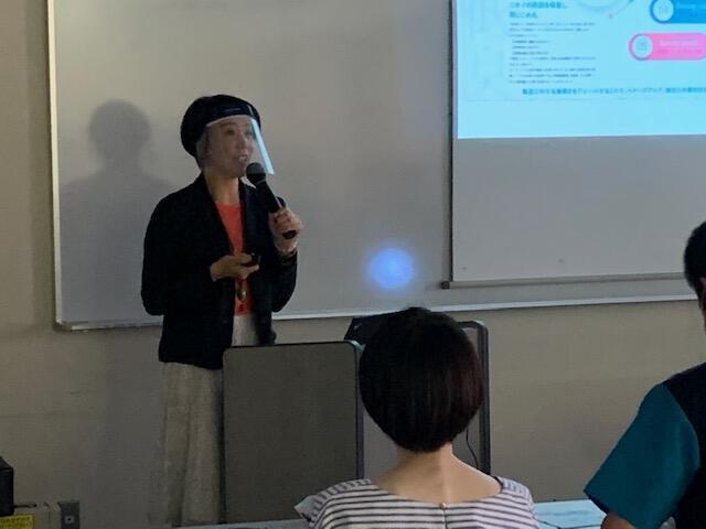 茨城県社会福祉協議会の職員向け感染対策講演会を行いました。