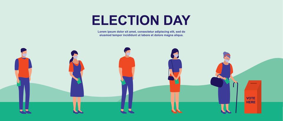 選挙における感染対策