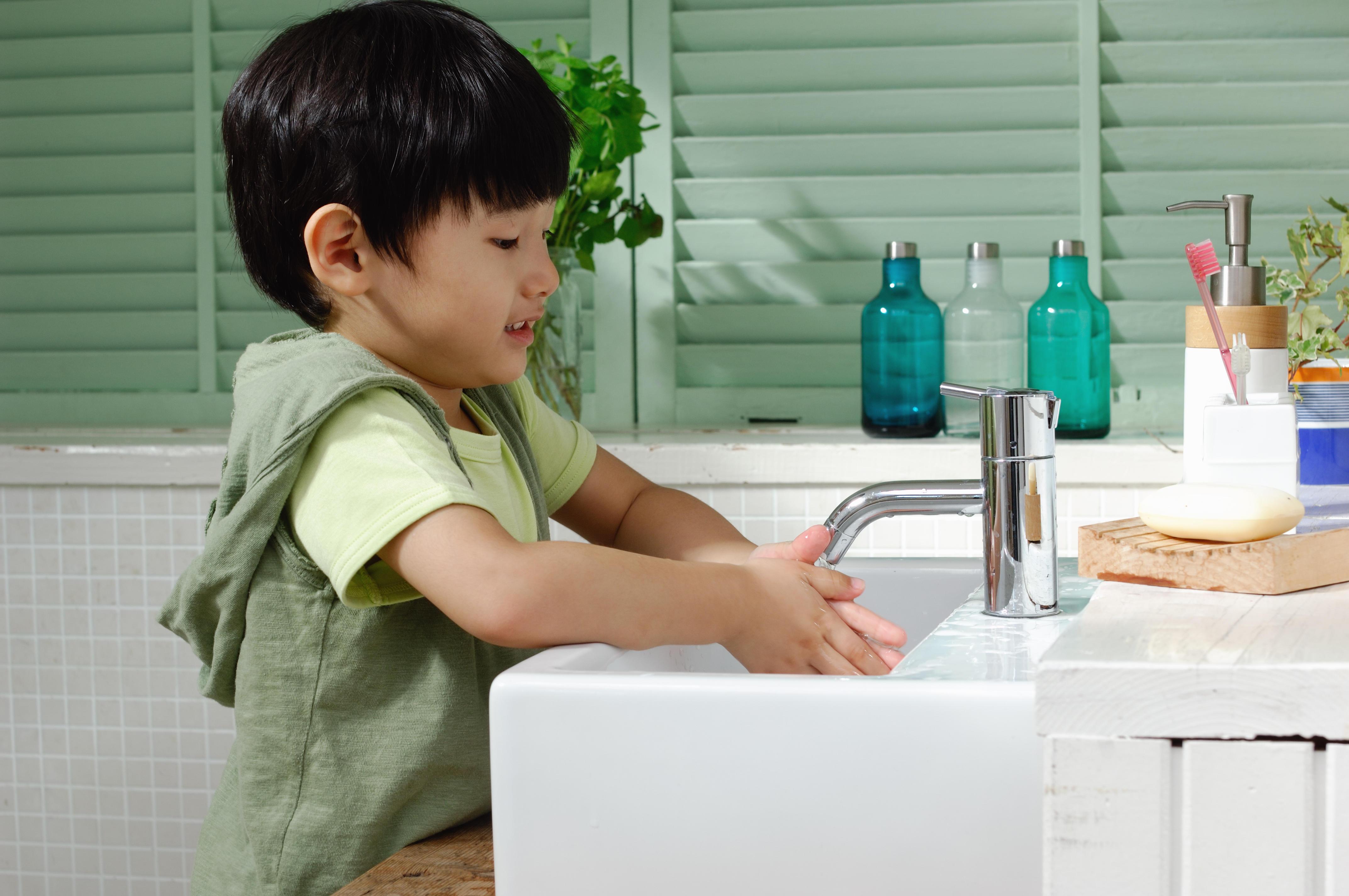 手洗い・消毒を毎日の習慣にしよう!