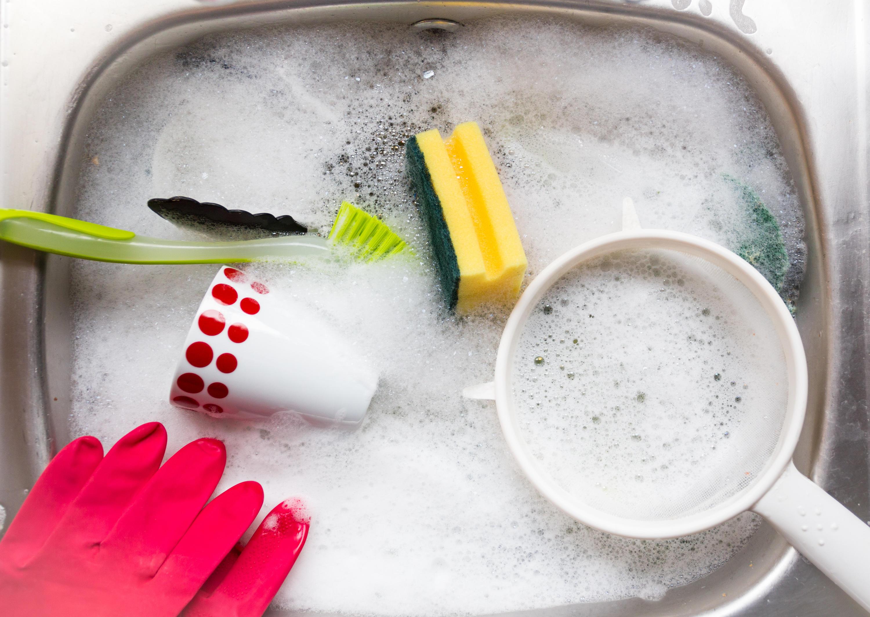 キッチンを清潔に保つための洗浄や消毒
