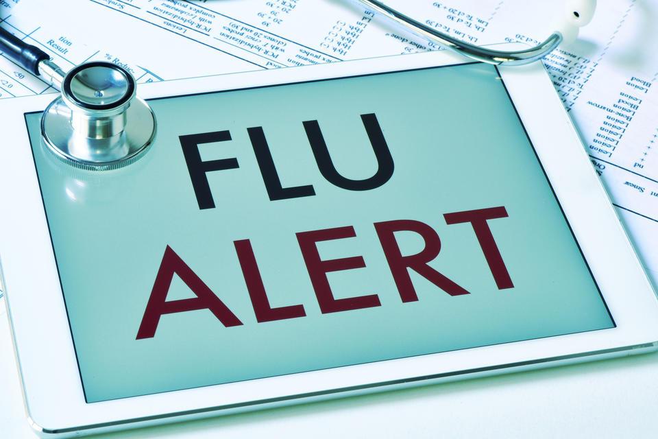 インフルエンザの流行が始まりました。